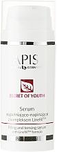 Perfumería y cosmética Sérum facial antienvejecimiento con algas marrones - APIS Professional Secret Of Youth Filling And Tensing Serum