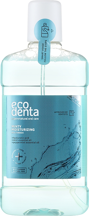 Enjuague bucal - Ecodenta Extra Refreshing Mouthwash — imagen N1
