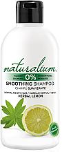 Perfumería y cosmética Champú suavizante con limón - Naturalium Herbal Lemon Smoothing Shampoo