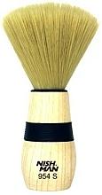 Perfumería y cosmética Cepillo de peluquería limpiapelos, 954 S - Nishman