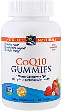 Perfumería y cosmética Complemento alimenticio de coenzima Q10, en gominolas con sabor a fresa 100mg - Nordic Naturals CoQ10 Gummies
