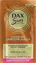 Perfumería y cosmética Toallita autobronceadora - Dax Sun Handkerchief Self-Tanning Towelette