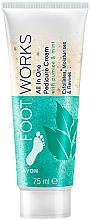 Perfumería y cosmética Peeling para pies con aceite de menta - Avon Footworks
