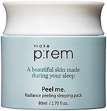 Perfumería y cosmética Crema mascarilla facial peeling con ácidos PHA - Make P rem Radiance Peeling Sleeping Pack