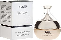 Perfumería y cosmética Mousse contorno de ojos con emulsiones vegetales y péptidos, 40+ - Klapp Silk Code Eye Contour Cream
