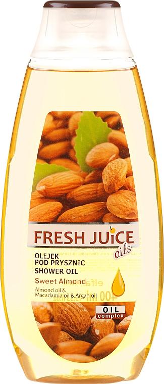 Aceite de ducha de almendra dulce, macadamia & argán - Fresh Juice Shower Oil Sweet Almond