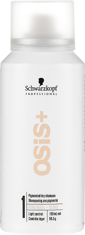 Champú seco profesional pigmentado - Schwarzkopf Professional Osis+ Boho Rebel Blond