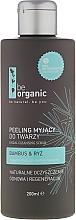 Perfumería y cosmética Exfoliante facial con bambú y arroz - Be Organic Facial Cleansing Scrub