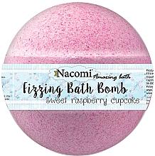 Perfumería y cosmética Bamba de baño con aroma a frambuesa - Nacomi Raspberry Bath Bomb