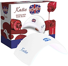 Perfumería y cosmética Lámpara LED para manicura, blanca - Ronney Profesional Katie 24W (GY-LED-037(9C) Lamp