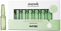 Perfumería y cosmética Ampollas faciales con extracto de centella asiática y D-pantenol - SNP Prep Cicaronic SOS Ampoule