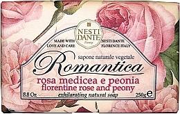 Perfumería y cosmética Jabón con rosa florentina & peonía - Nesti Dante Romantica Soap
