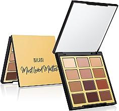Perfumería y cosmética Paleta de sombras de ojos, 12 colores - Milani Eyeshadow Palette