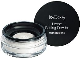 Perfumería y cosmética Polvo suelto de maquillaje fijador translúcido - IsaDora Loose Setting Powder Translucent