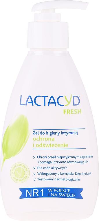 Gel de higiene íntima refrescante con ácido láctico natural y mentol (sin caja) - Lactacyd Body Care