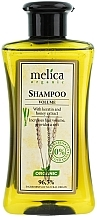 Perfumería y cosmética Champú orgánico voluminizador con queratina y extracto de miel - Melica Organic Volume Shampoo