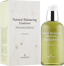 Perfumería y cosmética Emulsión facial equilibrante natural con extractos de malva y tomillo - The Skin House Natural Balancing Emulsion