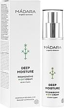Perfumería y cosmética Crema de noche regeneradora con ácido hialurónico, vitamina C y E - Madara Cosmetics EcoFace