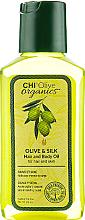 Perfumería y cosmética Aceite para cuerpo y cabello de oliva y seda  - Chi Olive Organics Olive & Silk Hair and Body Oil