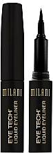 Perfumería y cosmética Delineador de ojos líquido - Milani Eye Tech Liquid Eye Liner