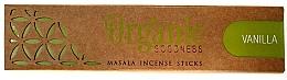 Perfumería y cosmética Varitas de incienso con aroma a vainilla - Song Of India Organic Goodness Vanilla