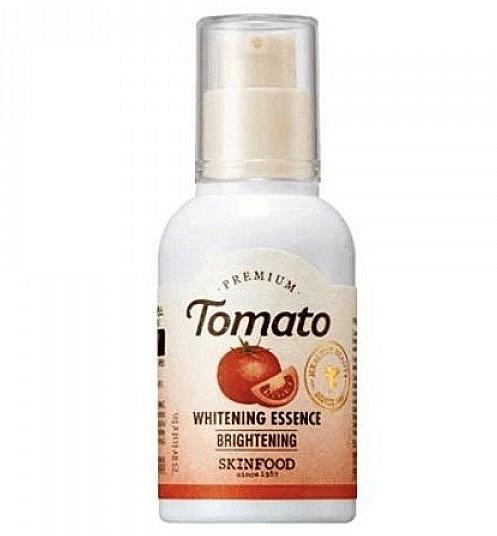 Esencia facial iluminadora con extracto de tomate - Skinfood Premium Tomato Whitening Essence