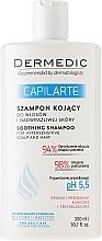 Perfumería y cosmética Champú calmante para cuero cabelludo muy sensible - Dermedic Capilarte Shampoo
