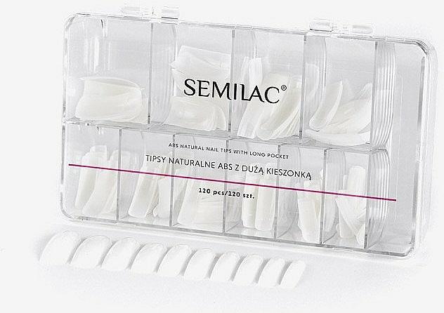 Uñas postizas - Semilac Natural Tips Box