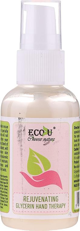 Sérum de manos rejuvenecedor con glicerina - Eco U