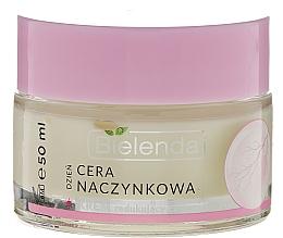 Perfumería y cosmética Crema de día antirojeces con aceite de aguacate y coco - Bielenda Capillary Skin Anti-Redness Face Cream