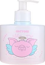 Perfumería y cosmética Jabón de manos líquido natural con extracto de fresa y frambuesa - Oh!Tomi Piggy Liquid Soap
