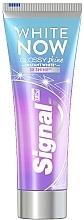 Perfumería y cosmética Pasta dental blanqueadora - Signal White Now Glossy Shine Toothpaste