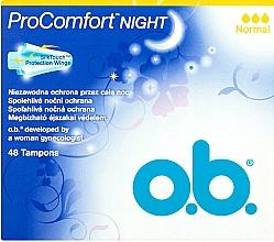 Perfumería y cosmética Tampones de noche, 48uds. normal - O.b. ProComfort Night Normal
