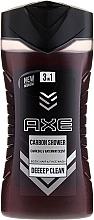Perfumería y cosmética Gel de ducha para cabello, rostro y cuerpo con carbón y aroma a menta - Axe Carbon Shower Gel