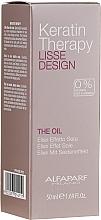 Perfumería y cosmética Aceite elixir para cabello de queratina, efecto seda - Alfaparf Lisse Design Keratin Therapy Oil