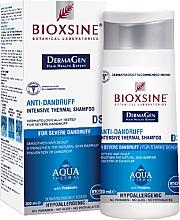 Perfumería y cosmética Champú anticaspa con agua termal - Biota Bioxsine Anti-Dandruff Intensive Thermal Shampoo DermaGen Aqua Thermal