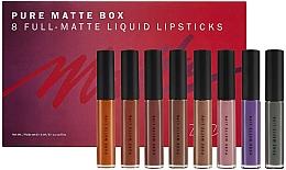 Perfumería y cosmética Set de labiales líquidos mate - Zoeva Pure Matte Box (lipstick/8x6ml)