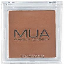 Perfumería y cosmética Bronceador facial - MUA Bronzer Sunkissed Bronze