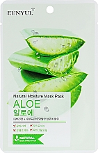 Perfumería y cosmética Mascarilla facial natural de tejido con extracto de aloe vera - Eunyul Natural Moisture Mask Pack Aloe