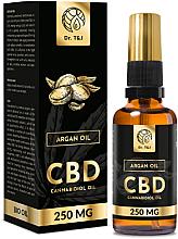 Perfumería y cosmética Aceite de argán natural CBD 250mg - Dr. T&J Bio Oil
