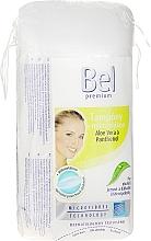 Perfumería y cosmética Discos desmaquillantes, ovales - Bel Premium Oval Pads with Aloe Vera