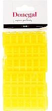 Perfumería y cosmética Rulos térmicos, 9218, 20mm, amarillo, 12uds. - Donegal Hair Curlers