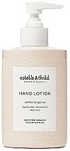 Perfumería y cosmética Loción de manos eco orgánica con aroma a vainilla y mandarina - Estelle & Thild Vanilla Tangerine Hand Lotion