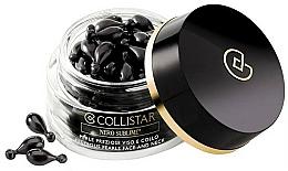 Perfumería y cosmética Perlas preciosas para rostro y cuello reavitalizantes con gel aceite de argán y vitamina E - Collistar Nero Sublime Precious Pearls Face And Neck