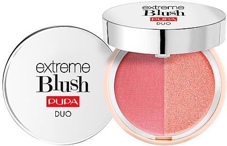 Colorete en polvo compacto dúo - Pupa Extreme Blush Duo