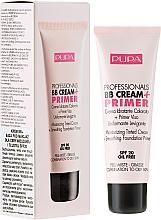 Perfumería y cosmética BB crema hidratante para piel mixta y grasa - Pupa BB Cream + Primer For Combination To Oily Skin
