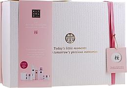 Perfumería y cosmética Set corporal - Rituals The Ritual of Sakura Ceremony XL (exfoliante/250ml + espuma de ducha/200ml +crema/200ml + jabón/300ml + spray/50ml + vela/290g)