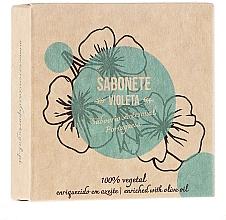 Perfumería y cosmética Jabón artesanal, violeta - Essencias De Portugal Senses Violet Soap With Olive Oil
