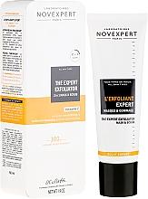 Perfumería y cosmética Mascarilla y exfoliante 2 en 1 con arena volcánica & extracto de papaya - Novexpert Vitamin C The Expert Exfoliator Mask & Scrub