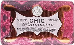 Perfumería y cosmética Jabón natural con orquídea salvaje & hojas de te rojo - Nesti Dante Chic Animalier Soap